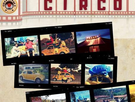 Você sabia que o Circo Os Kaco chegou em Taquaruçu em cima de um fusca amarelo?