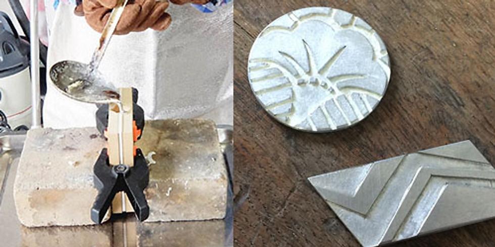 コの字推し!金属を溶かしてブローチやキーホルダーを作ろう!!  (1)