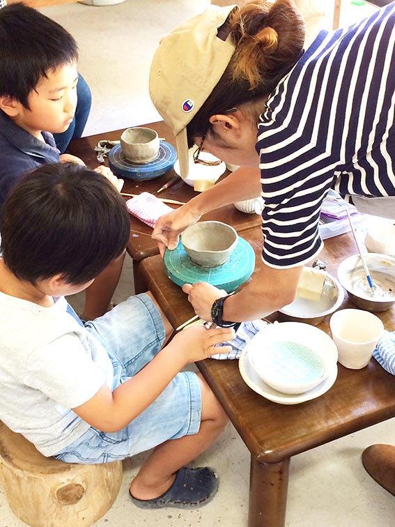 陶芸手びねり体験