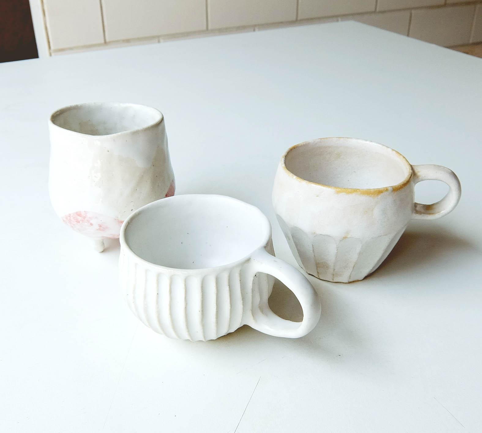 陶芸でコップ作り!