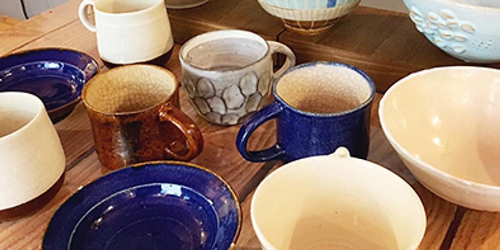 【本格陶芸】3日間。ろくろ体験でお茶碗や小皿を作ろう!