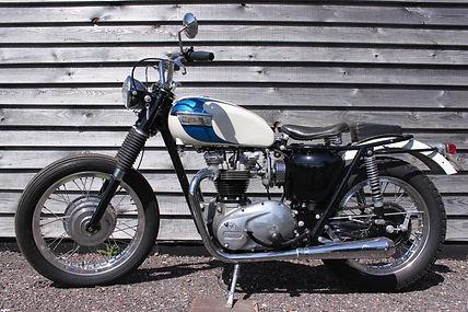 classic motorbikes for sale TR6 custom