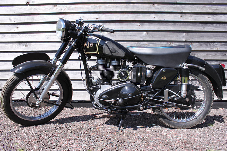classic motorbikes for sale AJS 16 MS