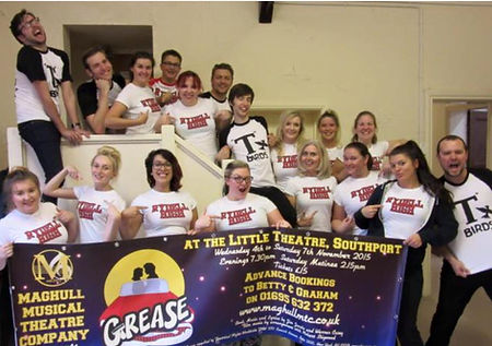 Cast of Grease