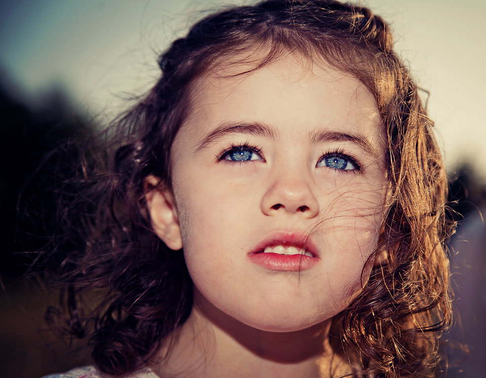 Beautiful girls portrait_