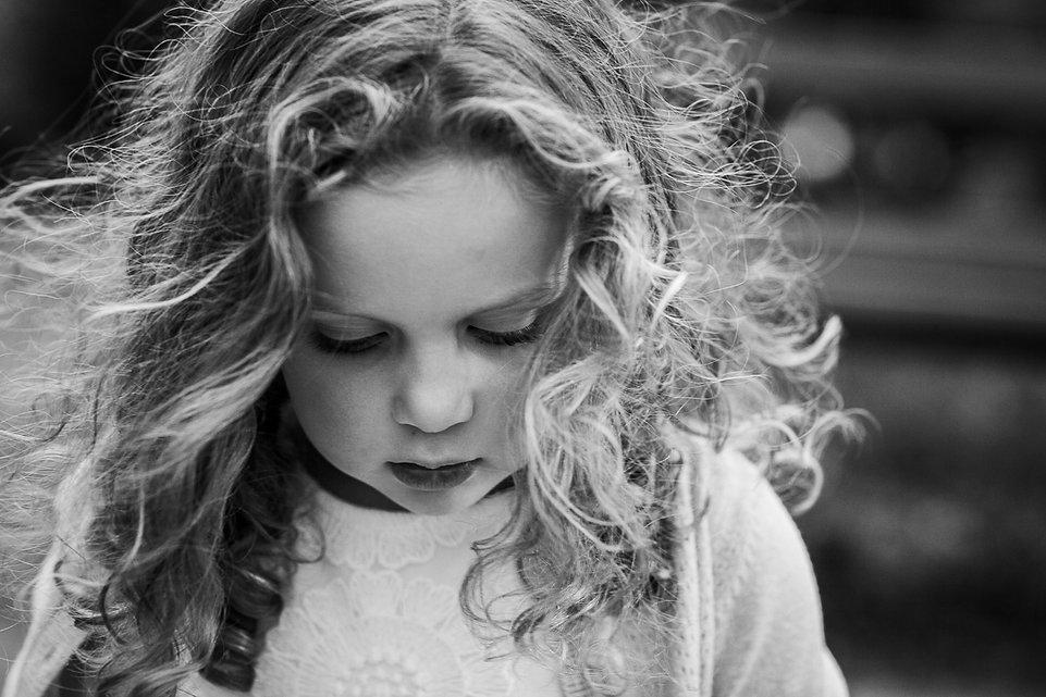 Child's natural portrait
