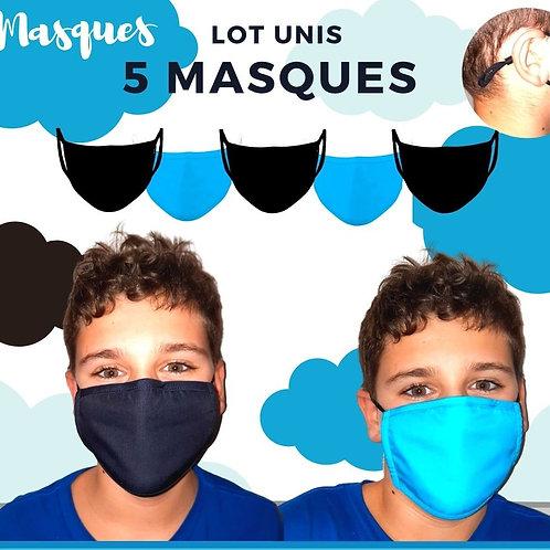 PACK UNIS 5