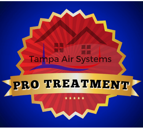 Tampa Air Systems Pro Treatment Promise to our customers