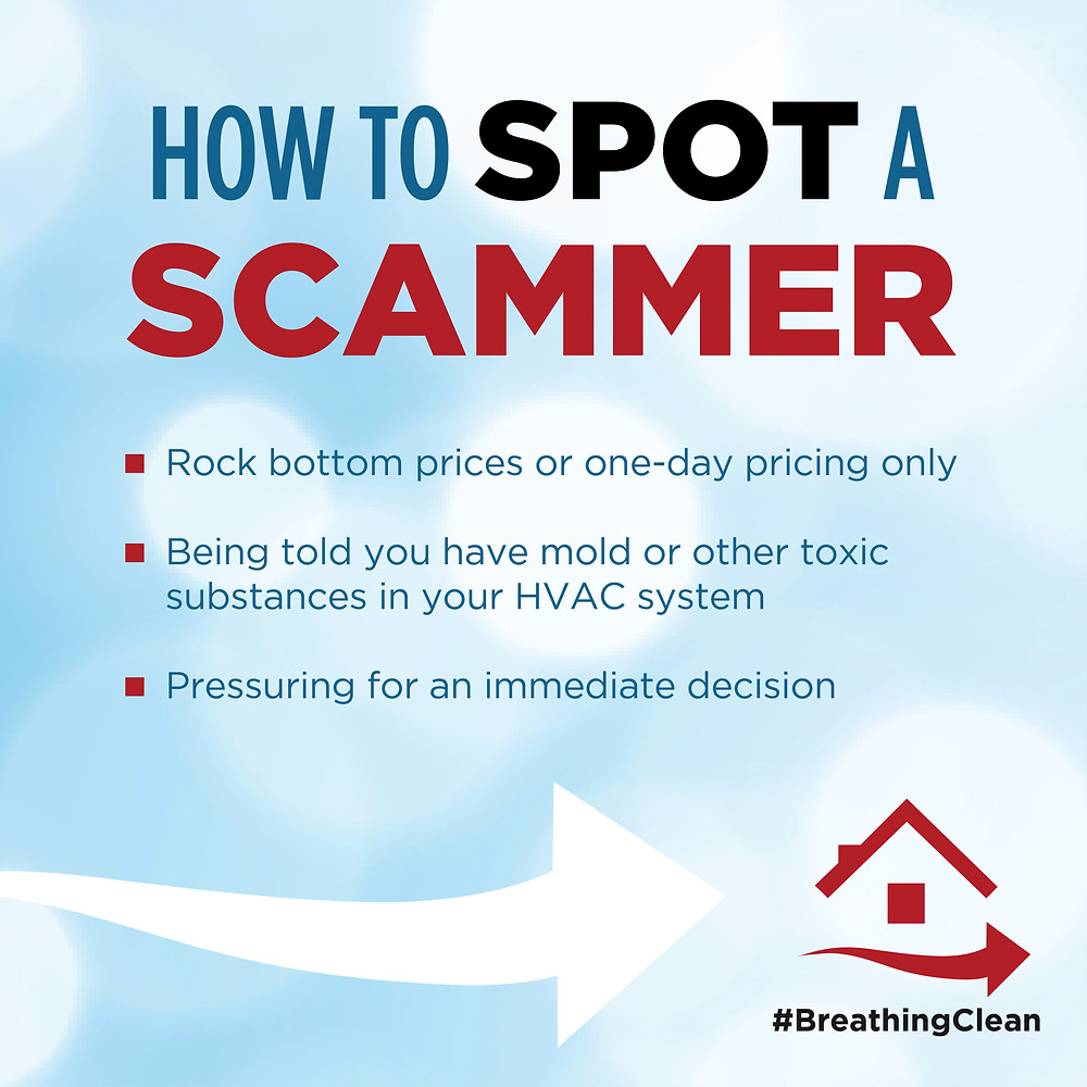 Air Duct Cleaning is a SCAM if you hire a SCAMMER