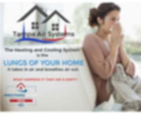 the heating and cooling system is the lungs of your home It takes in air and breathes air out. What happens if that air is dirty? Tampa Air Systems is certifed by NADCA to properly care for yor HVAC system.