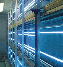 image of commercial ultra violet light