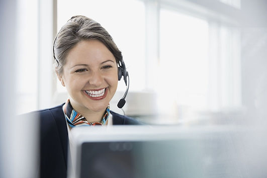 Image of Customer service representative