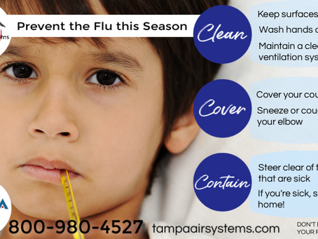 How Air Duct Cleaning Can Help Prevent the Flu (and other airborne pathogens)