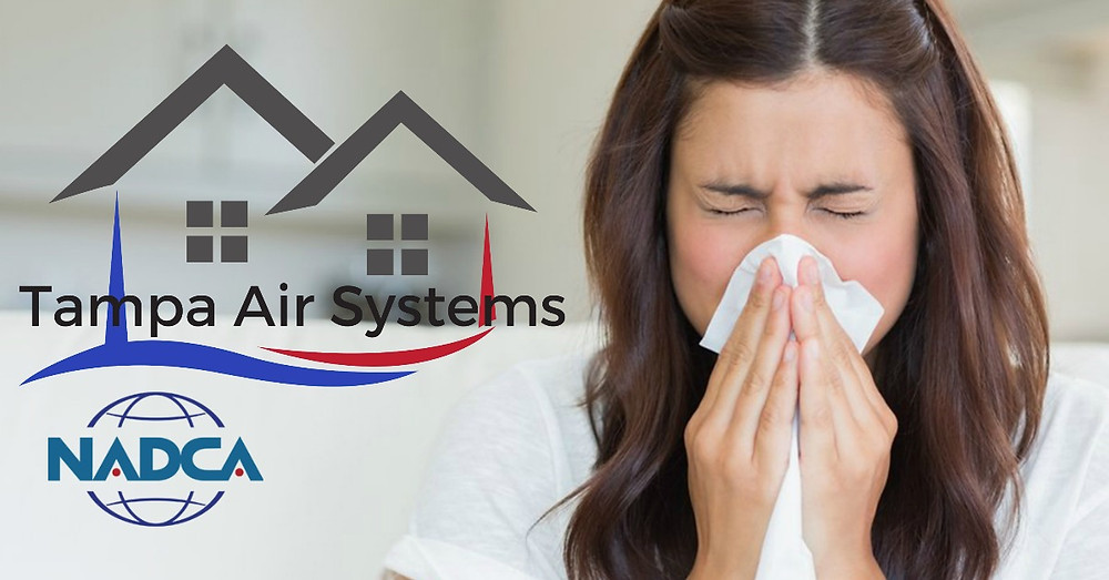 How's your Indoor Air Quality? Dirty air ducts can cause indoor allergens to flourish.