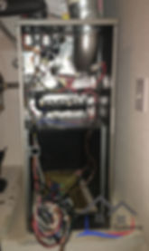 Image of Air handling unit dismantled to show the like new condition