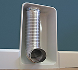 Image of a recessed wall cavity