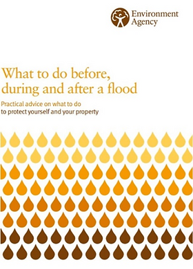 front page What to do flooding guidance booklet