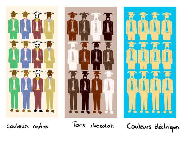 Color palette propositions