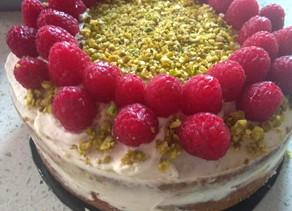 A diabetic-friendly birthday cake