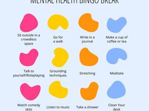 Sharing My Mental Health Bingo Break