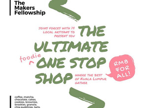 The Makers Fellowship x BakedKL Pop Up Cafe