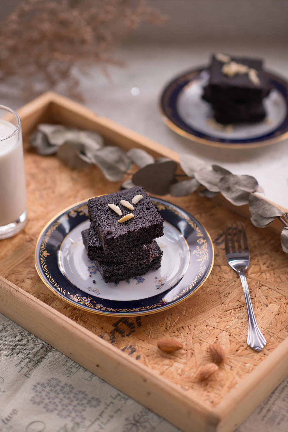 flourless cocoa brownie