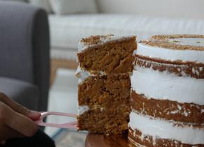Diabetic friendly Vegan Carrot Cake