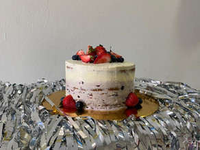 Caspian's Nut, Gluten, Egg and Soy Free Birthday cake