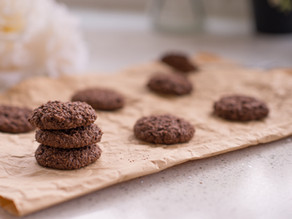 Baking mix: Vegan Cacao Oatmeal Cookies