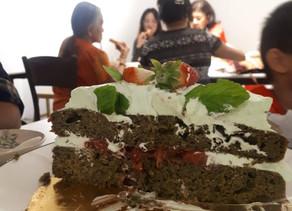 Vegan Spinach Cake