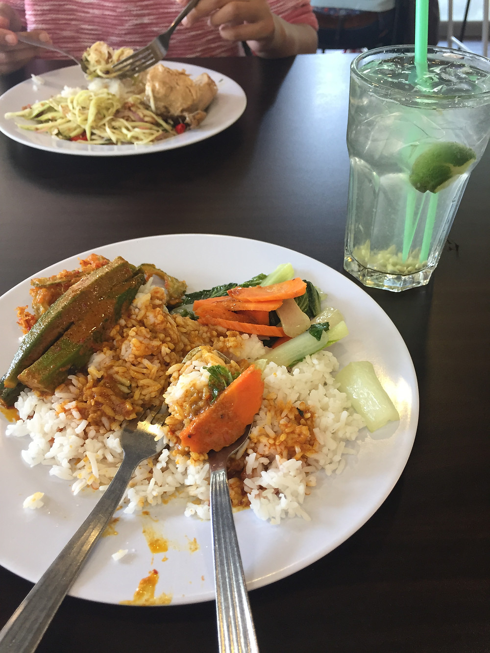 lunch rice dish