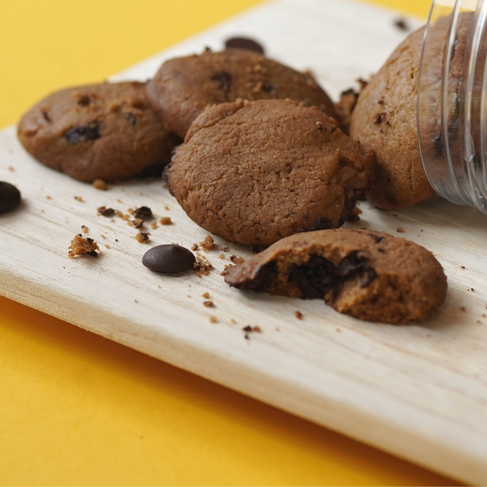 vegan eggless egg free dairy free chocolate chip cookies