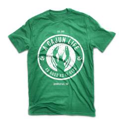 A Cajun Life t-shirt