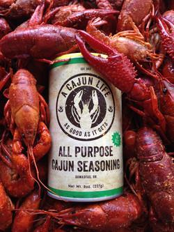 A Cajun Life Seasoning Packaging