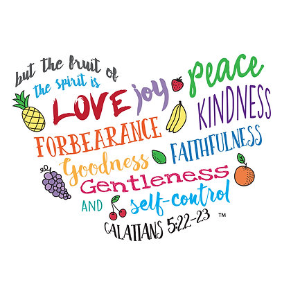 Fruits Of The Spirit Note Cards