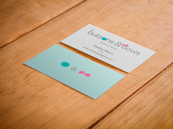 Buttons & Bows Branding