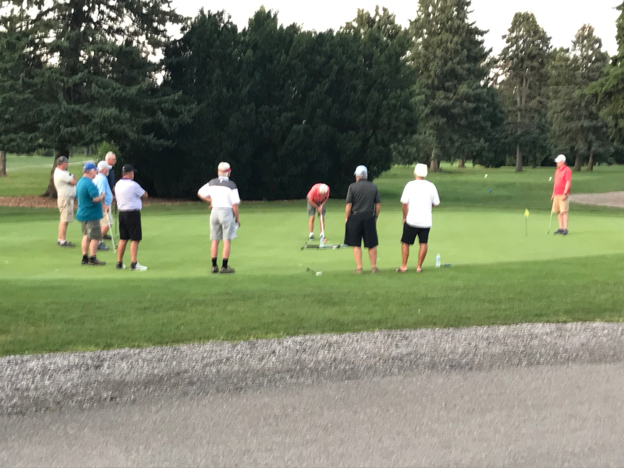 Fun at the Putt-off