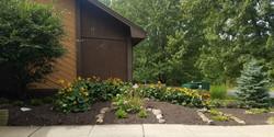 Garden by Church Front