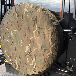 UK MTP Camo 4x4 spare wheel cover