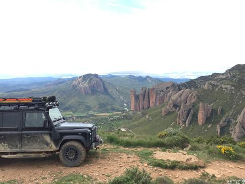 Overlooking Aguero