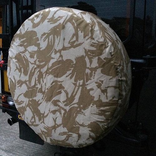 4x4 Spare Wheel Cover Desert DPM or MTP