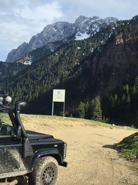 A mountain Pass