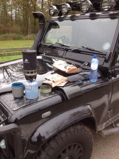 Roadside Lunch