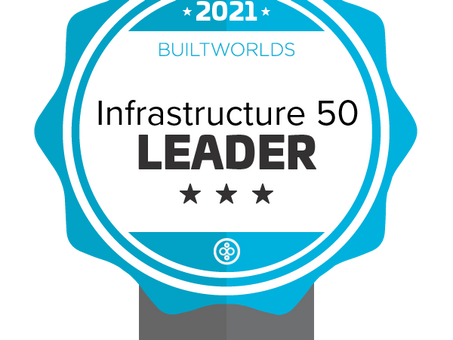 Top 50 Infrastructure Leader Throughout the Industry