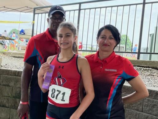 Team VA - Victoria Places 7th in the 100m Finals
