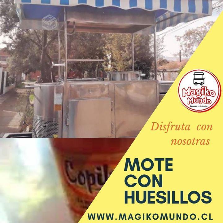 CARRITO MOTE CON HUESILLOS