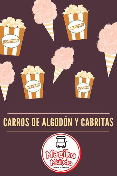 CARRO DE ALGODON Y CABRITAS