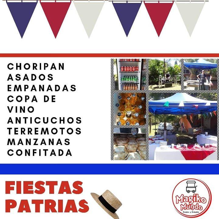 EVENTOS  DE FIESTAS PATRIAS PARA EMPRESA