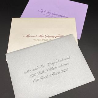 Wedding Mailing Envelopes