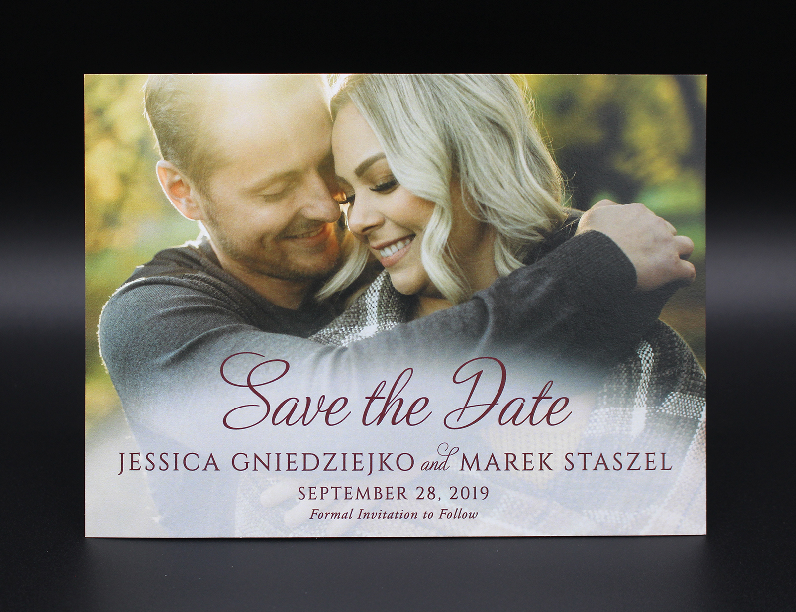 Single Photo Save the Date 1